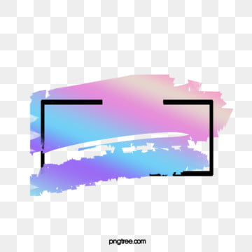 interspersed with black frame color fluorescent brush, Interspersed, Fluorescence, Brush PNG and PSD