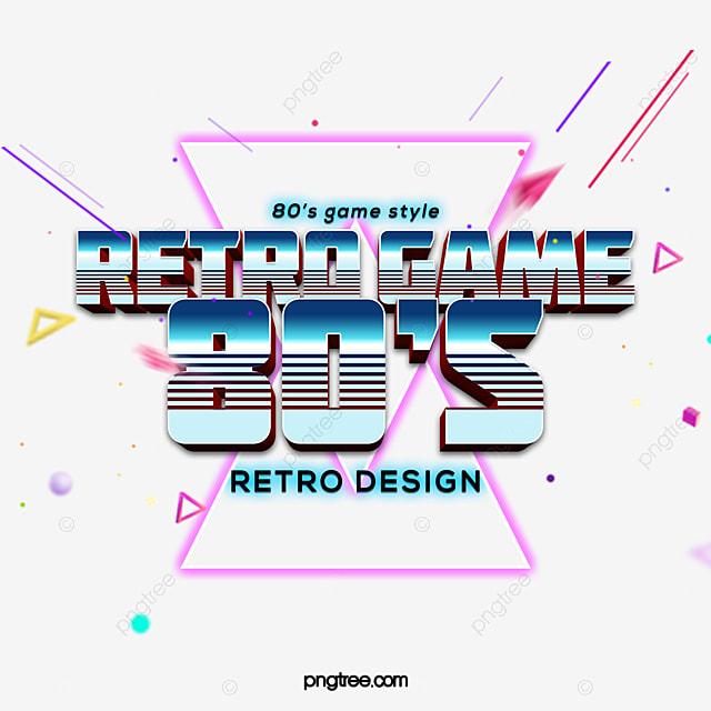 Design Degrade Mode Art Jeu Style Retro Art Effet De Texte Psd Pour Telechargement Gratuit
