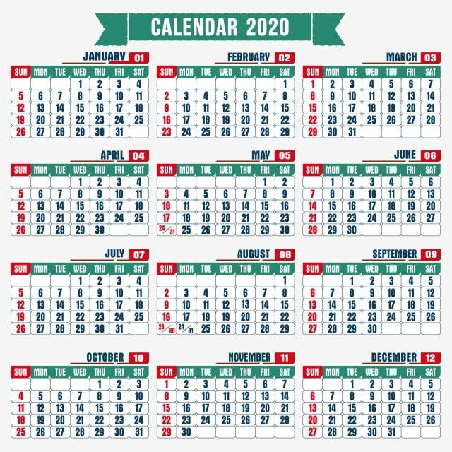 Calendario De 2020 Completo.Calendario 2020 Gratis
