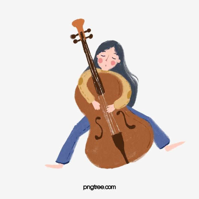 Girl Cello Instrument Music Girl Cello Musical