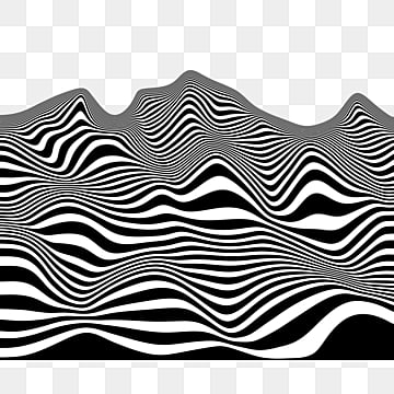 3d optical illusion line ripple, 3d, Optical Illusion, Ripple PNG and PSD