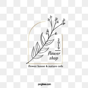 arch golden box plant element florist label, Square Box, Golden, Plant PNG and PSD