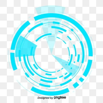 big data technology dynamic circle element, Data, Technology, Circle PNG and PSD