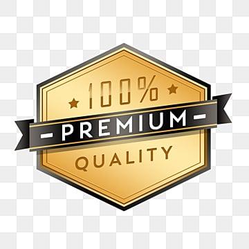 golden gradient badge sticker, Metal, Gradient, Golden PNG and PSD