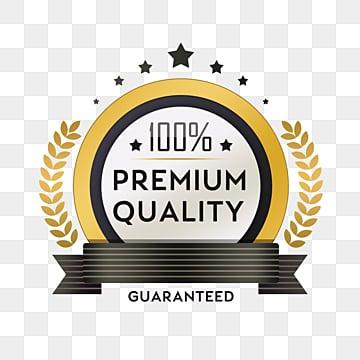 golden high quality badge sticker, Sticker, Texture, Cartoon PNG and PSD