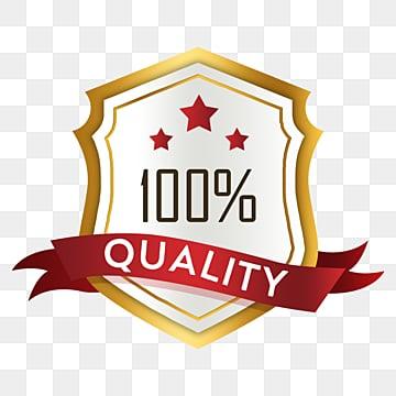 ribbon shield golden badge sticker, Sticker, Texture, High-grade PNG and PSD
