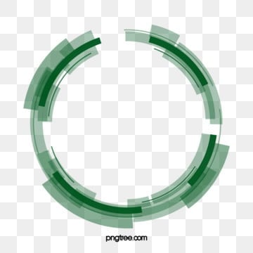 tech data circle element, Green, Technology, Data PNG and PSD