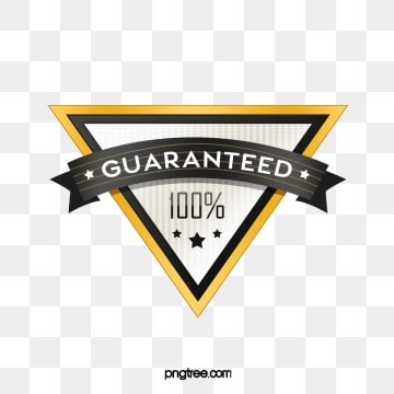 triangle cartoon golden gradient badge sticker, Sticker, Texture, Cartoon PNG and PSD