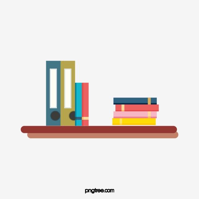 Livre De Livre Simple Etagere Concision Placage Books
