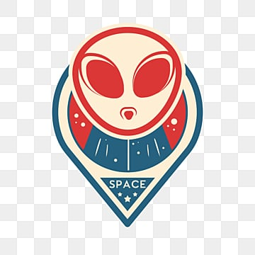 alien universe creative sticker, Color, Ufo, Space PNG and PSD