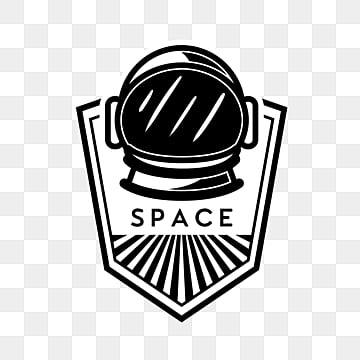 black and white minimalist space universe creative stickers, Ufo, Space, Flying Saucer PNG and PSD
