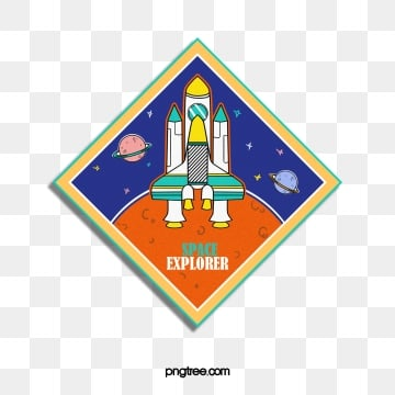 cartoon creative cosmic diamond sticker, Cartoon, Creative, Universe PNG and PSD