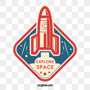 color cartoon creative rocket universe sticker, Color, Ufo, Space PNG and PSD