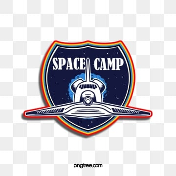 cosmic starship spaceship shield sticker label, Universe, Starry Sky, Airship PNG and PSD