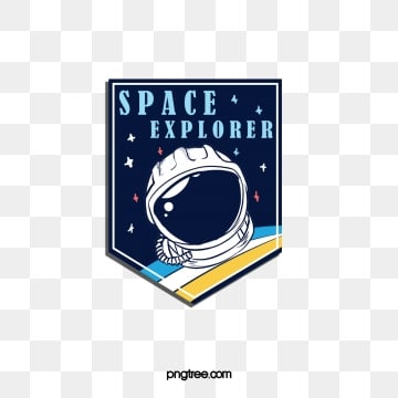 creative universe space exploration sticker, Creative, Universe, Space PNG and PSD