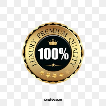 golden crown badge sticker, Golden, Black, Texture PNG and PSD