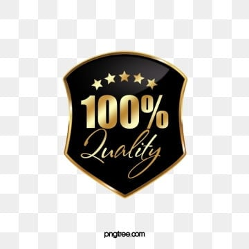 high end black gold shield badge label, Professional, Black Gold, Shield PNG and PSD