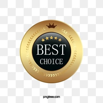 round black gold textured badge label, Geometric, Golden, Texture PNG and PSD