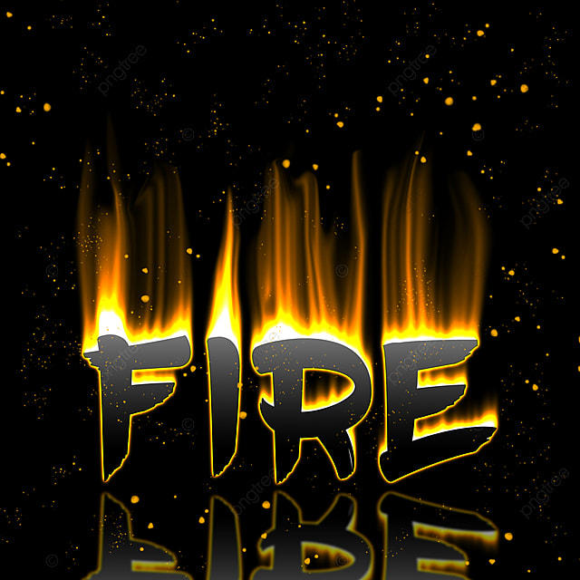 Fire Effect On Text Psd Art Font For Free Download