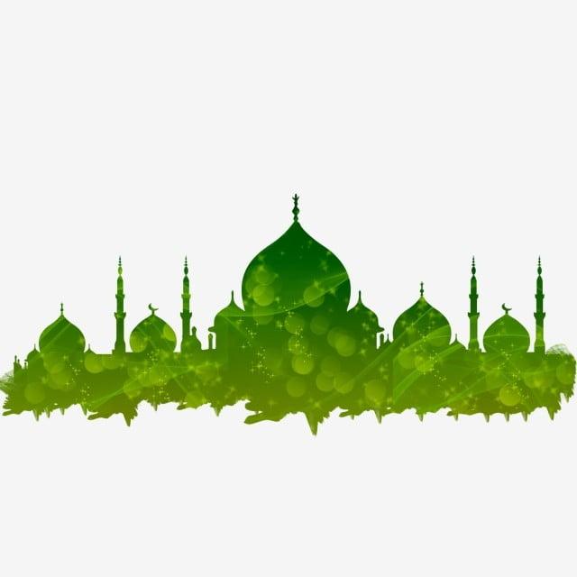 Masjid Transparent Shinning For Eid Ramadan Muharram