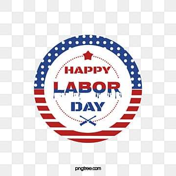 american labor day creative font round label Fonts