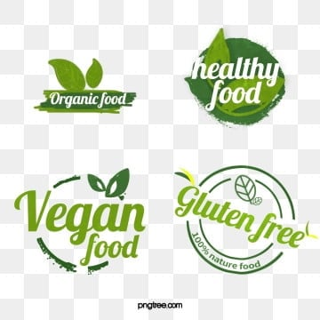 organic produce label, Green Logo, Healthy, Crops PNG and PSD