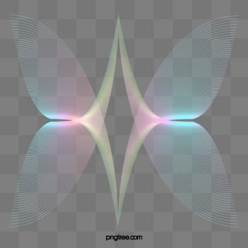 holographic halo rainbow butterfly gradient ripple, Line, Colourful, Color PNG and PSD