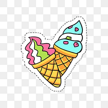 two colored sandwich ice creams, Cream, Ice Cream, Sandwich PNG and PSD