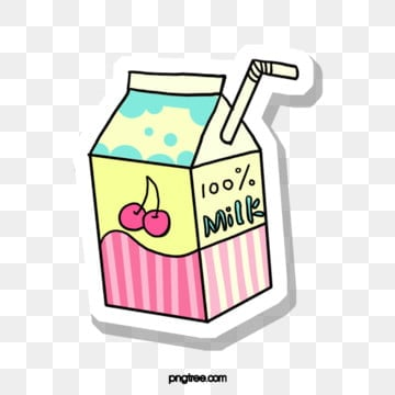 white straw on pink blue  box, Pink, Blue, Carton PNG and PSD