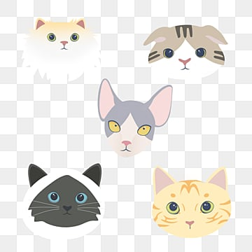 cartoon animal combination element cat and dog, Cat, Dog, Animal PNG and PSD
