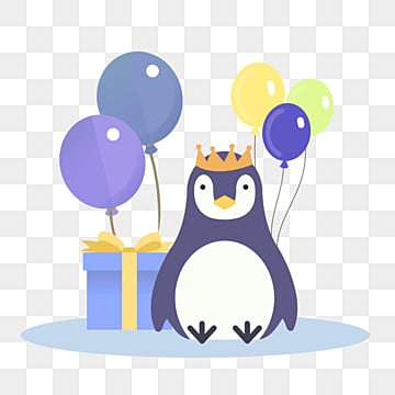 penguin cute flat cartoon animal, Penguin, Cartoon, Flat PNG and PSD
