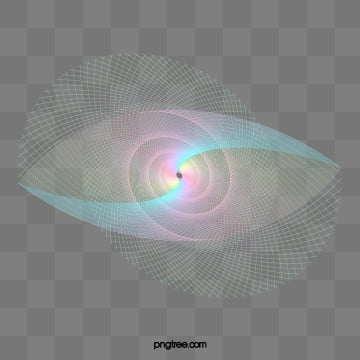 rainbow color holographic glow gradient eye ripple, Colourful, Color, Iridescent Color PNG and PSD