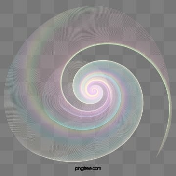 rainbow holographic halo gradient spiral wrap, Ripple, Gradient, Halo PNG and PSD