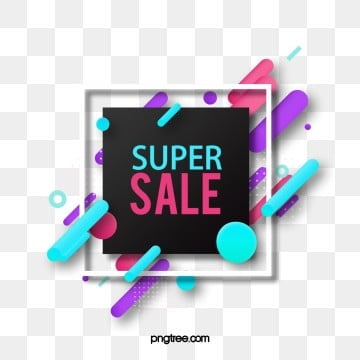 sale discount season simple color promotion label, Fluid Gradient, Dialog, Sale Promotion Price Reduction PNG and PSD