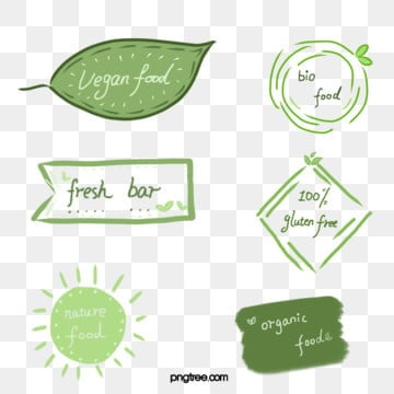 green farm hand painted fresh label, Farm, Green, Hand Painted PNG and PSD