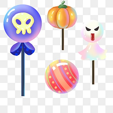 halloween emoticon candy, Halloween, Candy, Lovely PNG and PSD