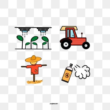 smart farm linear icon, Farm, Irrigation, Watering PNG and PSD