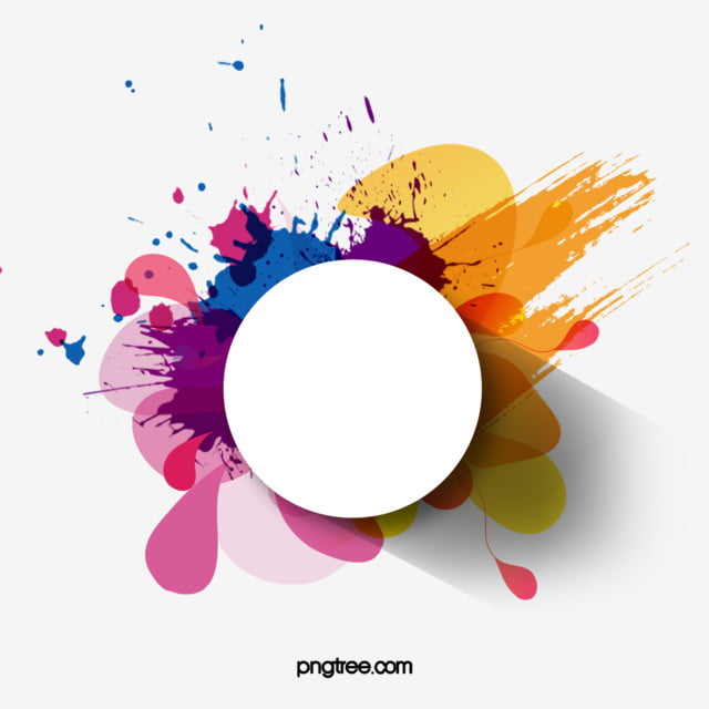 Colorful Watercolor Splash Round Border Color Watercolor Splashing Ink Png Transparent Clipart Image And Psd File For Free Download Choose from over a million free vectors, clipart graphics, vector art images, design templates, and illustrations created by artists worldwide! colorful watercolor splash round border