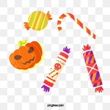 cute cartoon halloween candy, Candy, Cartoon Style, Festival PNG and PSD