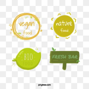 green fresh hand drawn farm label, Farm, Label, Simple Style PNG and PSD