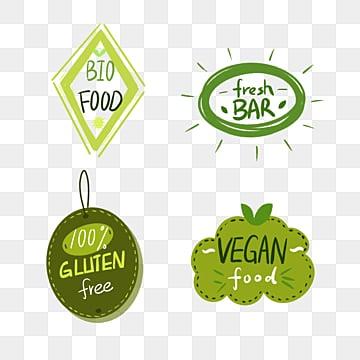 green fresh wind farm label element illustration, Label, Farm, Soft Pale PNG and PSD