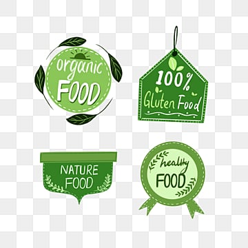 green fresh wind farm label element illustration, Label, Farm, Soft Pale PNG and PSD