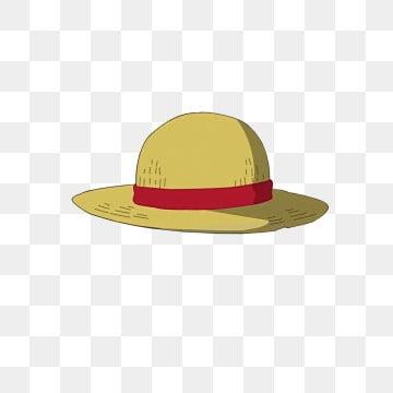 соломенная шляпа один кусок луффи арт png, шляпа клипарт, Соломенная шляпа, шляпа PNG и PSD