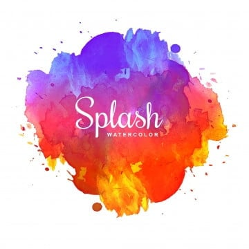 Color Splash PNG Images | Vector and PSD Files | Free