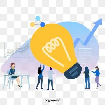 만화 비즈니스 ui 온라인 협력 그림, 선상, 협동, 상무. PNG 및 PSD