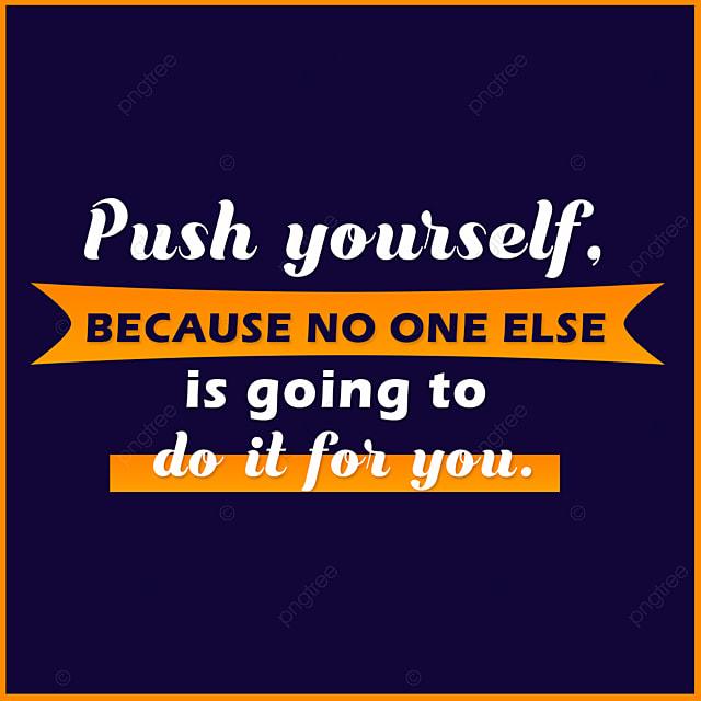 Imagem De Citação Motivacional Profunda Para O Trabalho Para