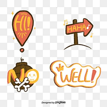 cartoon everyday language illustration camera sticker font Fonts