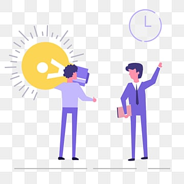 cartoon ui business cooperation creative illustration, Cartoon, Hand Painted, Violet PNG and PSD