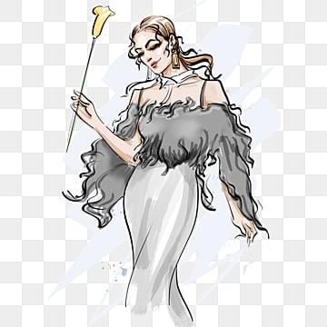 fashion girl fashion design elements, Fashion, Latest Fashion, Black PNG and PSD