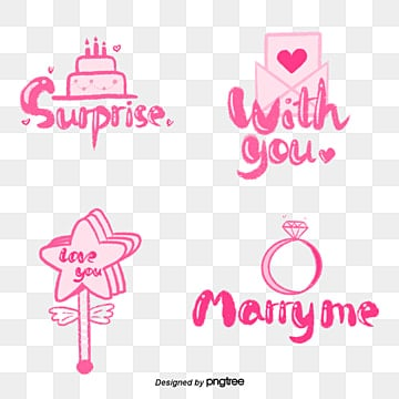 pink cartoon girl camera sticker font Fonts